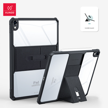Para funda ipad air 4 iPad 4 caso XUNDD protección Tablet funda, soporte para iPad Pro 10,2, 10,9 11 12,9 aire 2020 7 8 7th 8th generación caso