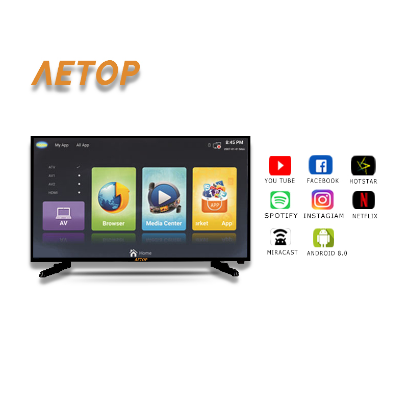 Free shipping-  LED 32 inch smart ultra HD led tv television 2k smart tv with android 8.0