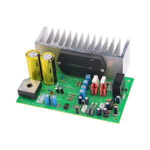 Image 5 - AIYIMA STK401 Audio Amplifier Board Amp 140W*2 HIFI 2.0 Channel High Power Amplifier AC24 28V Home Theater Diy