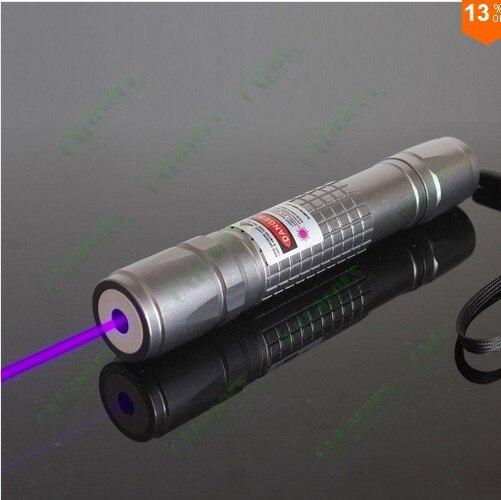 JSHFEI violet laser lampe de poche affichage de scène laser conférence instruction laser enseignement stylo laser