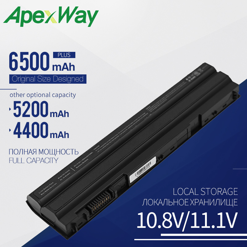 Apexway laptop battery for DELL 5520 7520 5720 3460 <font><b>E5420</b></font> <font><b>E5420</b></font> E5420m E5430 E5520 E5520m E5530 E6420 E6430 E652 7720 P14F001 image