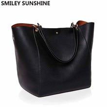 Gerçek hakiki deri kadın omuzdan askili çanta yüksek kaliteli tasarımcı deri çanta kadın büyük Tote bayanlar el çantaları kadınlar için 2020
