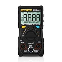 True RMS Digital Multimeter Professional Auto Range ESR Meter NCV Transistor Capacitor Tester Data Retension Pocket Multi Meter недорого