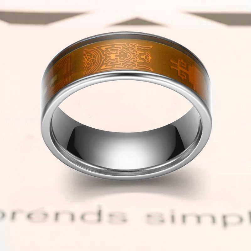 NFC Smart Ring новая технология умные часы кольцо Поддержка всех NFC функций смартфонов, смарт-кольцо для пароль отпечатка пальца блокировки