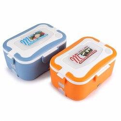 1.5L przenośne elektryczne pudełko na Lunch 12V/24V samochodowy podgrzewany elektrycznie pojemnik na jedzenie cieplej pojemnik na Lunch termostatyczny pojemnik Bento