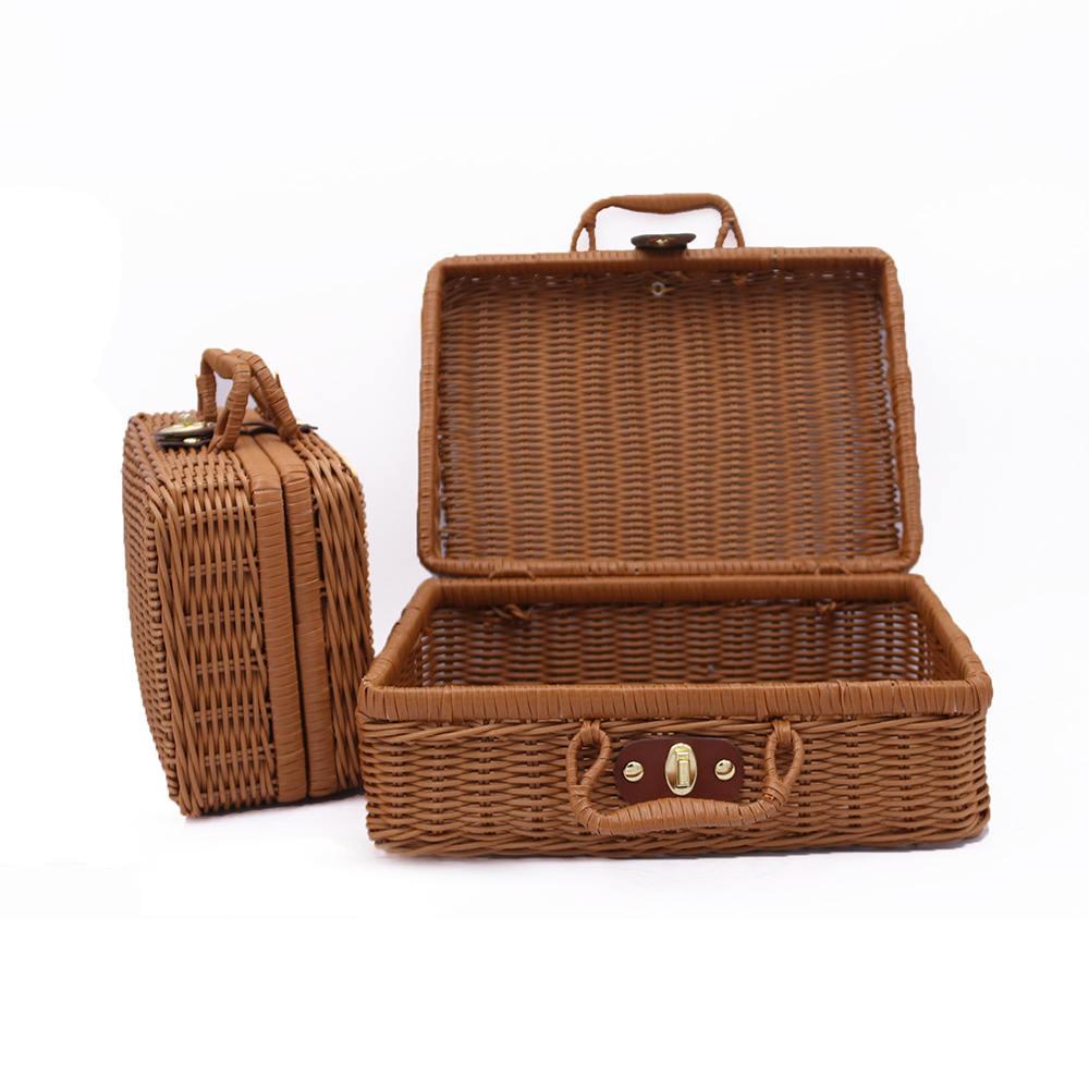 Cesta de lavanderia para mala, cesta de decoração moderna para malas, cesta, piquenique, lavanderia, decoração, casa, cesta