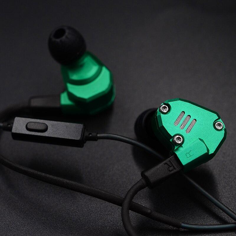 KZ ZS6 métal écouteurs 2DD + 2BA hybride dans l'oreille écouteurs HIFI casque détachable Bluetooth mise à niveau câble huit pilote casque-in Écouteurs et casques from Electronique    2