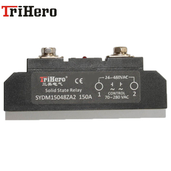 цена на 220v 600v single phase AC/AC Industrial class SSR solid state relay 150A,SSR relay,SSR-150AA