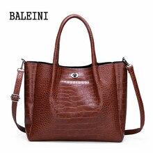 2019 big Women Handbag Leather Women Shoulder Bags