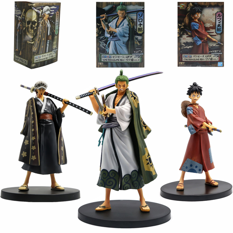 """Luffy Gifts PVC Toy Comics With Box 6.5/"""" Anime Figure Model One Piece Monkey D"""