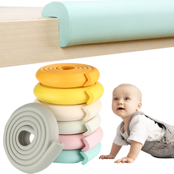 2M Baby Safety Corner Protector Of Cabinets From Children Guard Strip Children Safe Protection Tape Furniture Corners Home