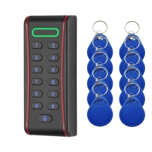RT371 Rfid Access Control Keypad with 1000 Users+ 10 Key Fobs for RFID Door Access Control System