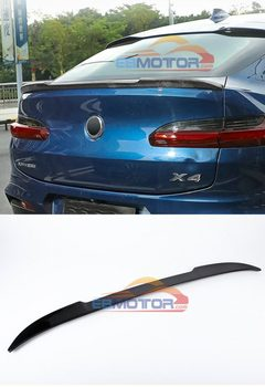 CS Style Real carbon fiber Wing trunk lip Spoiler for BMW X4 G02 25i 30i 2018UP B519 1