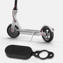 Скутер зарядка порт крышка водонепроницаемый силикон пыль зарядка порт чехол замена для Xiaomi M365 скутер аксессуары