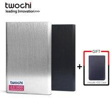 TWOCHI – disque dur externe HDD usb 2.5 de 360 pouces, stockage HD Portable avec Xbox One, Xbox, PS4, PC, Mac, ordinateur de bureau