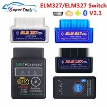 Auto-Diagnostic-Tool Bt-Adapter OBD2 Elm 327 Car-Elm327