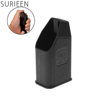 SURIEEN 1Pc polímero Glock de munición para cargador velocidad cargadora de ruedas para la 9mm 40 357? 380 Auto y 45 brecha Mags Clips Clip llenar balas estilo