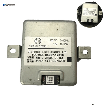 цена на 1X YCK Original 85967-12010 Highlander Car Headlight Computer Light Control LED Module 35500-70161 USED Car Light Accessories