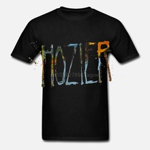 HOZIER SPRAY LOGO WHITE T-SHIRT NEW OFFICIAL BAND MUSIC ADULT(China)