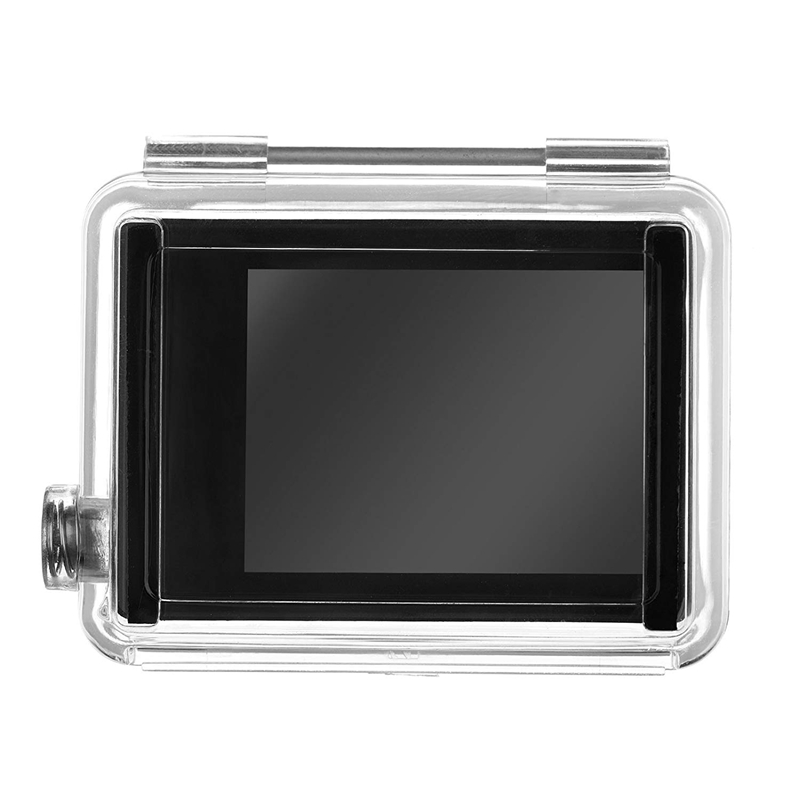 Hot 3C-2.0 Inch HD BacPac External LCD Monitor Display Viewer Screen With Waterproof Housing Backdoor For GoPro Hero 4/3+, Hero