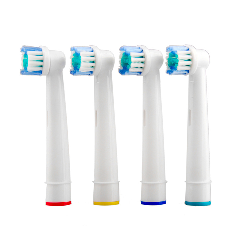 4pcs Electric Toothbrush Head For Oral B D25, D18, D12, D8, D4X, D4, D17, D4510, D12013, D12013W, D12523, D8011, D9525, D9511