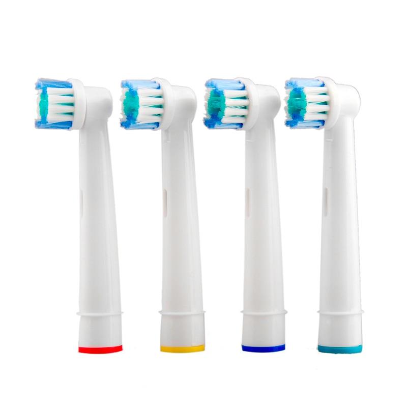 4pcs Electric Toothbrush Head For Oral B D25, D18, D12, D8, D4X, D4, D17, D4510, D12013, D12013W, D12523, D8011, D9525, D9511