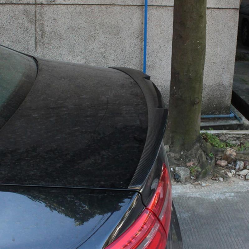 2016UP A6 C7 M4 Style Carbon Fiber Auto Car Zadní spoiler křídlo pro Audi A6 C7 M4 Style 2016