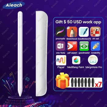 For Stylus Pen Apple Pencil 2 For iPad Pro 11 12.9 2020 9.7 2018 Air 3 10.2 2019 Mini 5 For iPad Pencil with Palm Rejection Pen