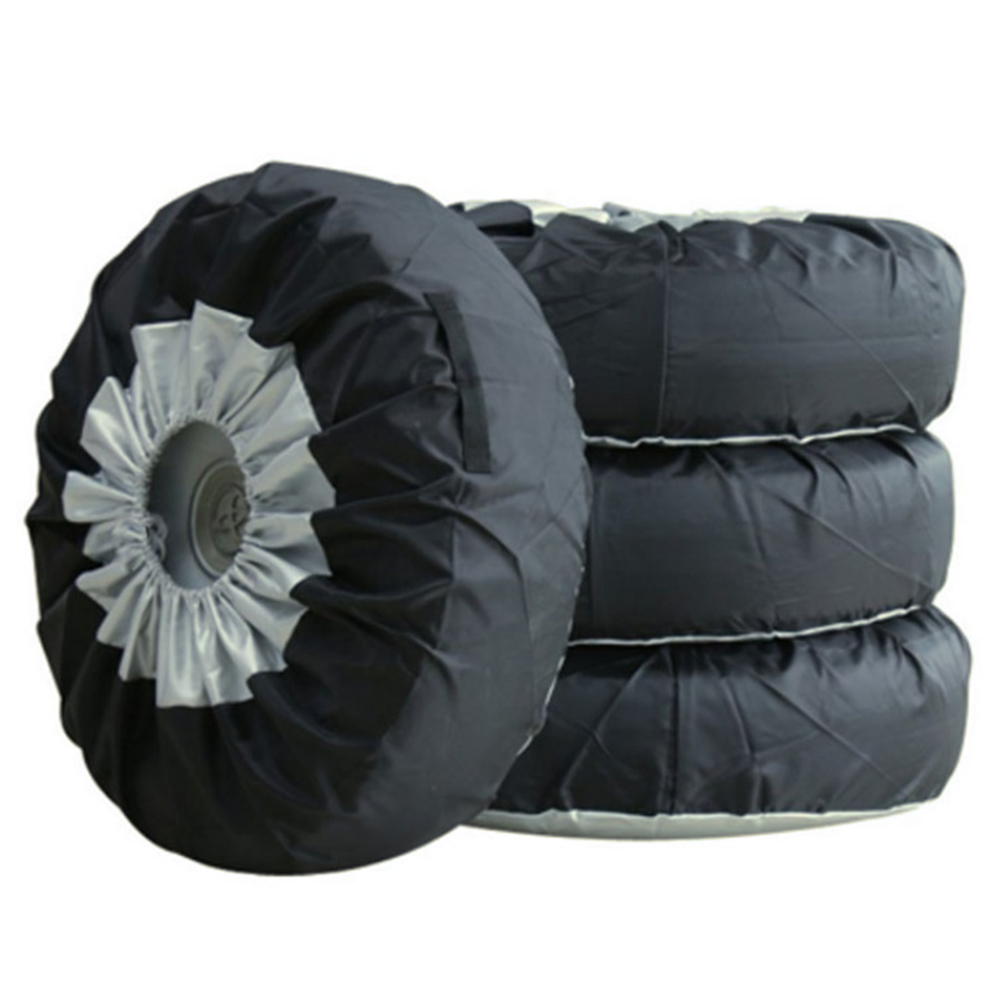 """Universal Car SUV 13-19/"""" Tote Spare Tire Tyre Storage Cover Wheel Bag"""