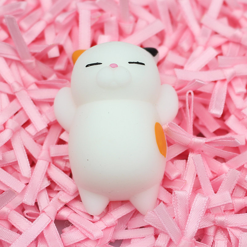 Cat Dumpling Animal Seals Vent Toys Gift Pinching Lovely Animation Squish  Squeeze Toy Toys For Kids Animals & Nature 3C