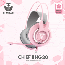FANTECH HG20 Wired Headset Gamer PC 3.5mm PC Headsets HD Microphone Gaming Overear Laptop Tablet Gamer