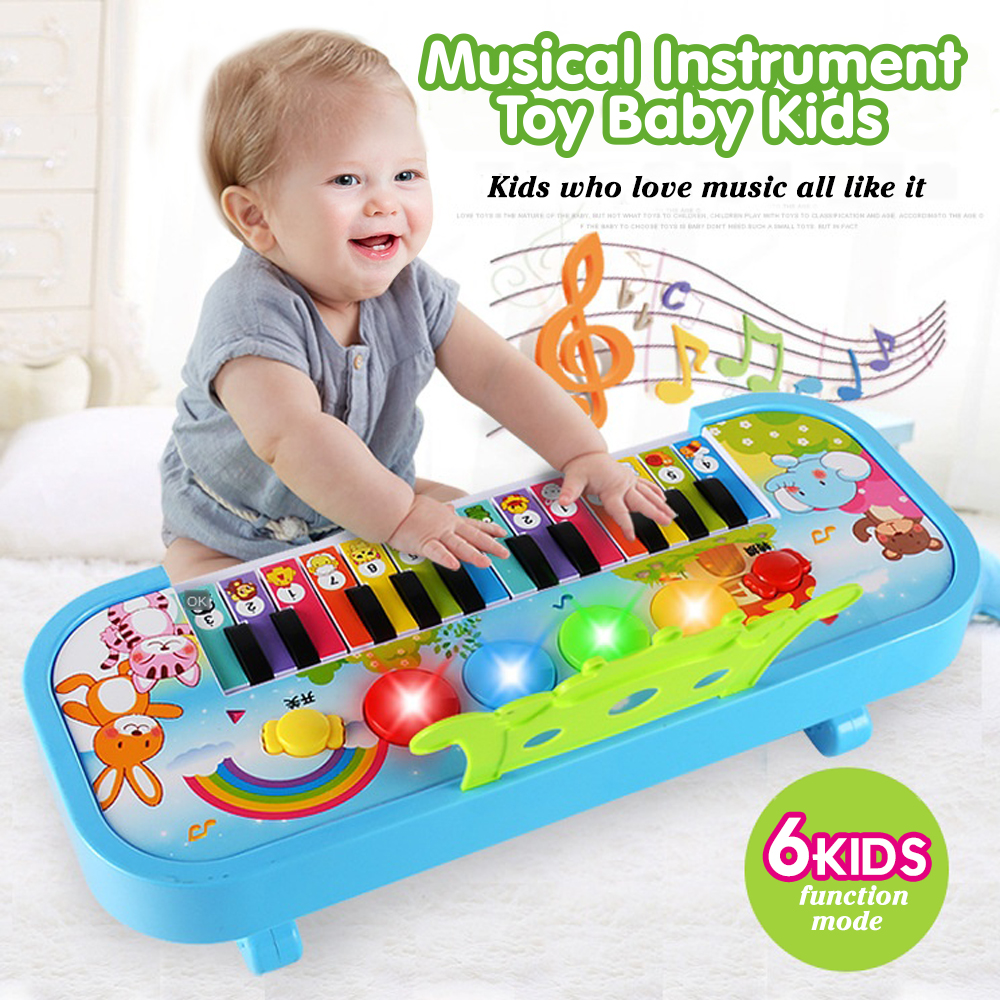 Musical Instrument Toy Baby Kids Animal Farm Piano Developmental Educational Toys For Children Gift Infants Electronic Keyboard