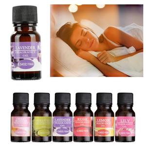 New 10ml Water-soluble Essential Oils Flower Fruit Essential Oil For Aromatherapy Diffusers Air Freshening Body Relieve TSLM1