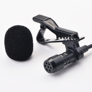 Image 2 - Ollivan Pro Audio Microfoons 3.5 Mm Jack Plug Clip On Lavalier Mic Stereo Record Mini Bedrade Externe Microfoon Voor telefoon 1.5M