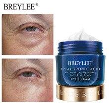 BREYLEE Hyaluronic Acid Moisturizing Eye Cream For Eye Bags Under Eyes Anti Wrinkles Eyes Serum Improve Dryness Skin Care 20g