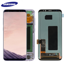 ORIGINAL 5.8 S8 Display Screen for SAMSUNG Galaxy S8 Screen Replacement LCD Touch Digitizer Assembly G950F G950 with FRAME