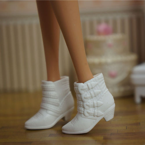 Doll Shoes Mix style High Heels Sandals Boots Colorful Assorted Shoes Accessories For Barbie Doll Baby Xmas DIY Toy 17
