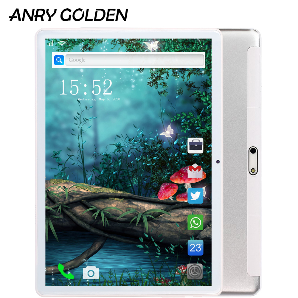 ANRY RS10 1GB + 16GB Tablet 10.1 Inch 1280x800 IPS Screen Display MT6580 Quad Core Android 7.0 Tablets PC 10 3G Phone Call