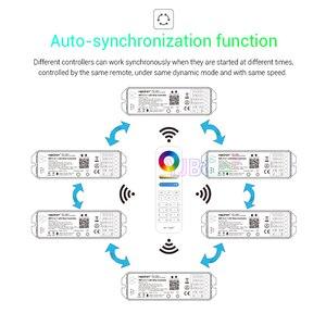 Image 2 - MiBOXER 5 en 1 LED de contrôle WL5 2.4G WiFi 15A couleur unique, CCT, rvb, RGBW,RGB + CCT Led bande gradateur prise en charge Amazon Alexa voix