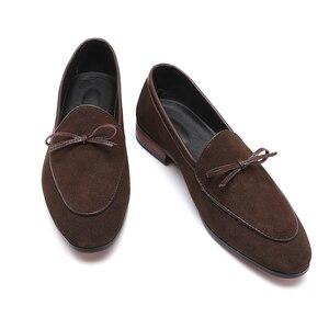 Image 2 - 37 48 حذاء رجالي الأخفاف تنفس العلامة التجارية الكلاسيكية زائد حجم الأزياء مريحة أنيقة الفاخرة حذاء كاجوال الرجال #7719