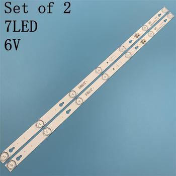 2pcs LED Backlight Lamp strip For TCL L32F3303B 32HR330M07A2 TCL L32F3303B L32F1680B for merlot 32M19 32M18