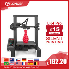 "LONGER LK4 Pro FDM 3D Drucker Open Source 4.3 ""Volle Farbe Touch Screen Voller Metall Großen Größe Hohe Präzision 3D drucker"