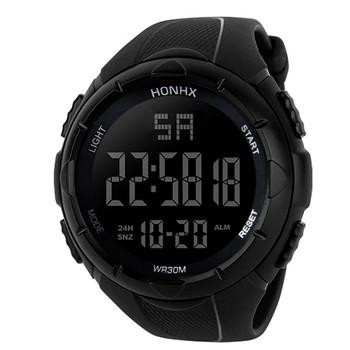 CURDDEN zegarek męskie zegarki zegarek dla mężczyzn luksusowe casual luxury Men analogowy cyfrowy wojskowy Sport LED wodoodporny zegarek na rękę 2021 tanie i dobre opinie 5Bar CN (pochodzenie) Sprzączka simple Samoczynny naciąg 24cm Akrylowe stoper Wyświetlacz LED Automatyczna data Odporne na wodę