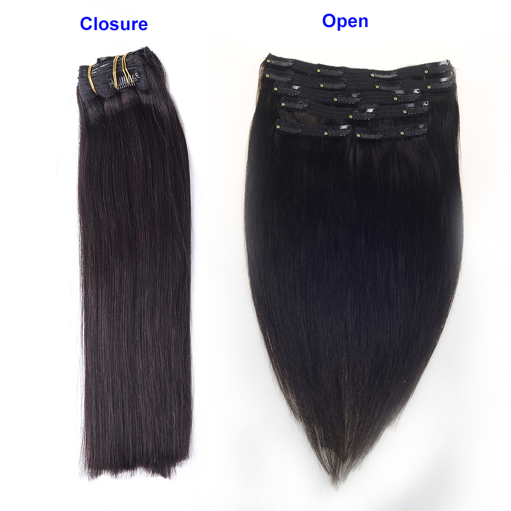 Sindra Clip In Hair Human Extensions Real Remy Hair 14
