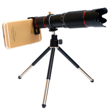 4K HD 36X Optical Zoom Camera Lens Telephoto Lens Mobile Telescope Phone for Smartphone Cellphone Peripheral Lens