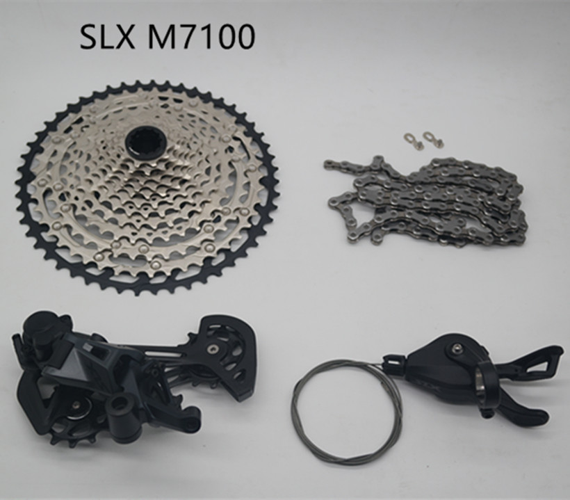 CN M7100 12-speed Chain Set Shimano SLX CS M7100 12-speed Cassette sprockets