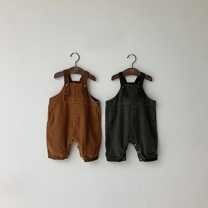 MILANCEL Baby Clothes Baby Boys Clothing Corduroy Inafnt Girls Overalls Toddler Boys Jumpsuit