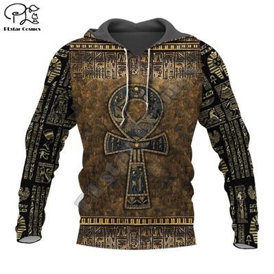 PLstar Cosmos Horus Egyptian God Egyptian Symbol Pharaoh Anubis Tracksuit 3DPrint Zipper/Hoodies/Sweatshirt/Jacket/Men/Women S18