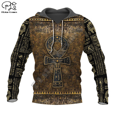 PLstar Cosmos Horus Egyptian God Egyptian Symbol Pharaoh Anubis Tracksuit 3DPrint Zipper/Hoodies/Sweatshirt/Jacket/Men/Women s18
