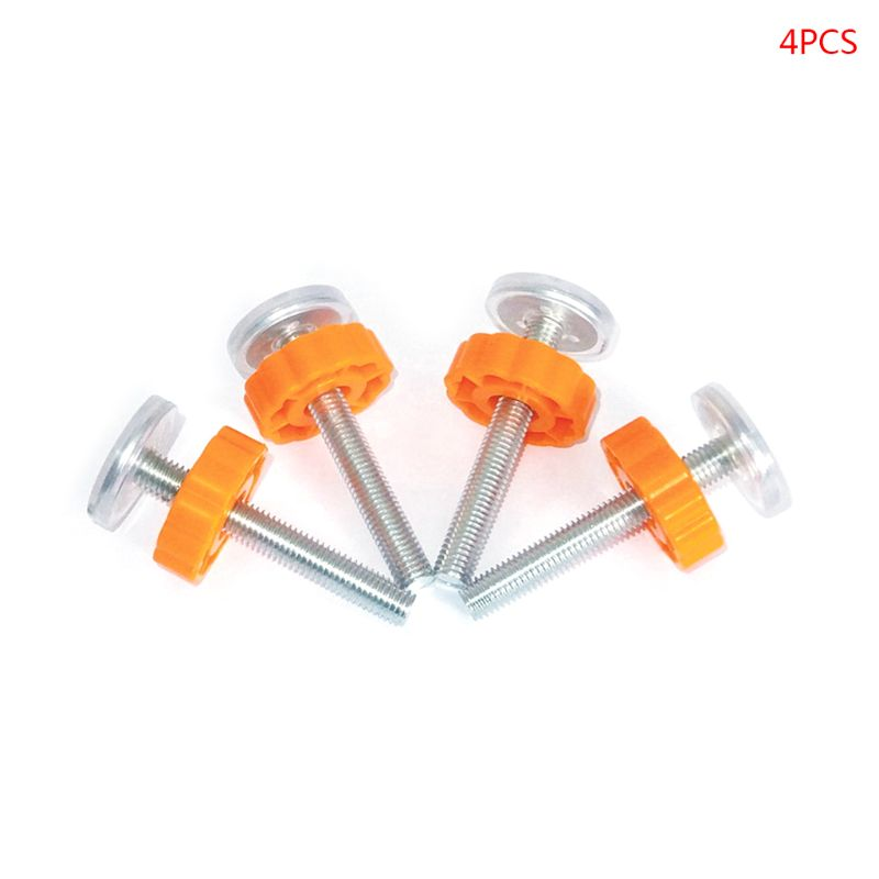 Baby Safety Stairs Gate Screws/Bolts With Locking Nut Spare Part Accessorie 4pcs